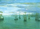 James McNeill Whistler Crepuscule in Flesh Colour and Green 1866